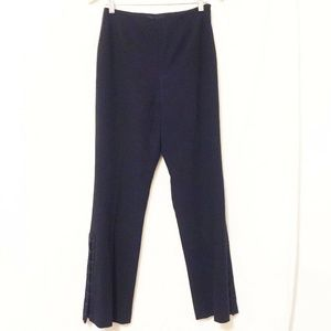 Dana Buchman Dress Pants Aphrodite Lace Up Leg 4